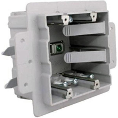 PVC DOUBLE GANG ICF BOX-IPEX-QUERMBACK-Default-Covalin Electrical Supply