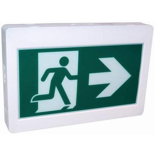 EXIT SIGN, RUNNING MAN-ORTECH-CROWN DISTRIBUTION-Default-Covalin Electrical Supply