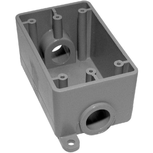 3/4'' FSC SINGLE GANG BOX-NAPCO-NAPCO-Default-Covalin Electrical Supply