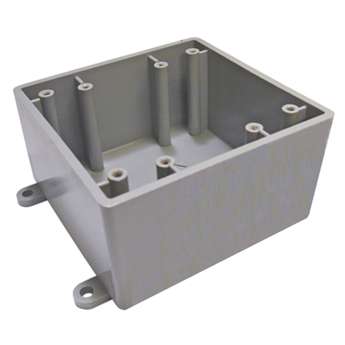 BLANK FS DOUBLE GANG BOX-NAPCO-NAPCO-Default-Covalin Electrical Supply