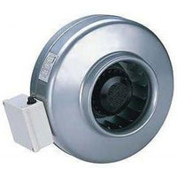 INLINE FAN 6'' 260 CFM 2.8 SONE-ORTECH-CROWN DISTRIBUTION-Default-Covalin Electrical Supply