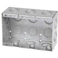 MBS-3K - 2 1/2'' DEEP 3 GANG MASONRY BOX W/CONCENTRIC KNOCKOUTS-VISTA-VISTA-Default-Covalin Electrical Supply