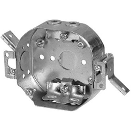 54151-LD 4″ DIAMETER OCTAGONAL REWORK BOX WITH NMD90 CABLE CLAMPS-VISTA-VISTA-Default-Covalin Electrical Supply