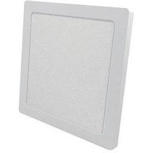 LED FLUSH MOUNT SQUARE 7'' DIAMETER, 12W 960LMN, 5000K, WHITE-ORTECH-CROWN DISTRIBUTION-Default-Covalin Electrical Supply