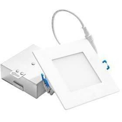 SLIM LED DOWNLIGHT 2'' SQUARE, 9W, 550LMN, 3000K, BLACK ***NEW***-ORTECH-CROWN DISTRIBUTION-Default-Covalin Electrical Supply