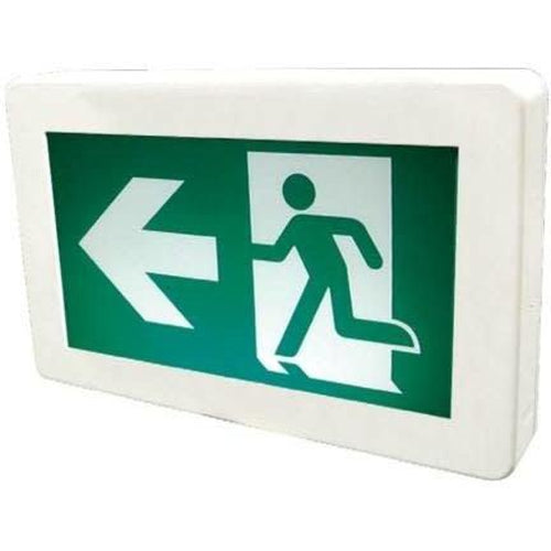 EXIT SIGN, DC RUNNING MAN, WITHOUT BATTERY-ORTECH-CROWN DISTRIBUTION-Default-Covalin Electrical Supply