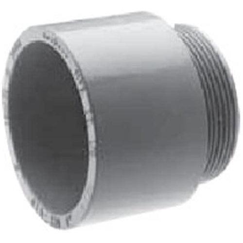 1-1/2'' PVC TERMINAL ADAPTORS-IPEX-QUERMBACK-Default-Covalin Electrical Supply