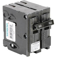 SIEMENS 2 POLE 60A PUSH-IN CIRCUIT BREAKER Q260-SIEMENS-DEALER SOURCE-Default-Covalin Electrical Supply