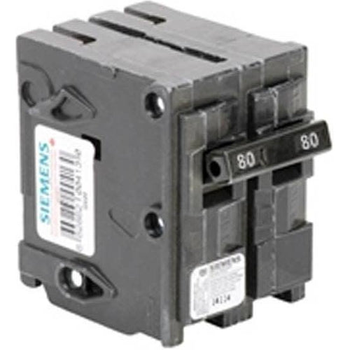 SIEMENS 2 POLE 80A PUSH-IN CIRCUIT BREAKER Q280-SIEMENS-DEALER SOURCE-Default-Covalin Electrical Supply