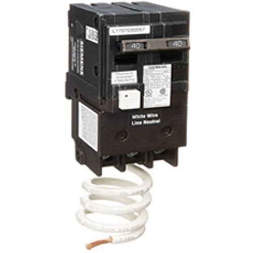 SIEMENS 2 POLE 40A GFCI PUSH-IN CIRCUIT BREAKER QF240-SIEMENS-DEALER SOURCE-Default-Covalin Electrical Supply