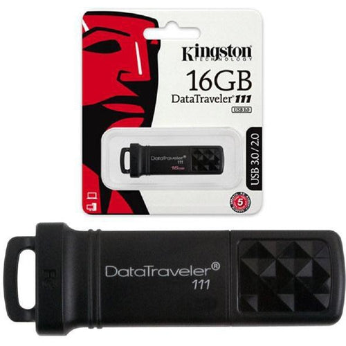 KINGSTON USB 3.0 FLASH DRIVE / PEN DRIVE - 16 GB-KINGSTON-COMPUTER PLUG-Default-Covalin Electrical Supply