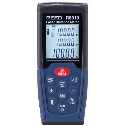 LASER DISTANCE MEASURER 100M/328'-REED-REED INSTRUMENTS-Default-Covalin Electrical Supply