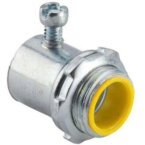 1/2'' SET-SCREW CONNECTORS (INSULATED THROAT)-HALEX-HALEX-Default-Covalin Electrical Supply