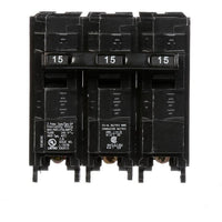 SIEMENS 3 POLE 15A PUSH-IN CIRCUIT BREAKER Q315-SIEMENS-DEALER SOURCE-Default-Covalin Electrical Supply