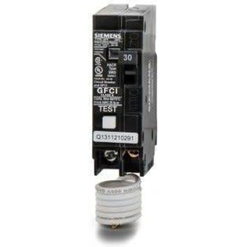 SIEMENS 1 POLE 30A PUSH-IN GROUND-FAULT CIRCUIT BREAKER QF130-SIEMENS-DEALER SOURCE-Default-Covalin Electrical Supply