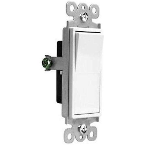 VISTA 15A DECORATIVE SWITCH - S.P. - WHITE-VISTA-VISTA-Default-Covalin Electrical Supply