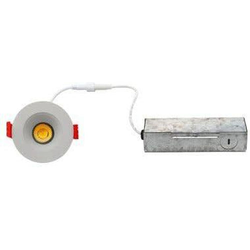 SLIM LED DOWNLIGHT 2'', 9W, 550LMN, 3000K, WHITE-ORTECH-CROWN DISTRIBUTION-Default-Covalin Electrical Supply