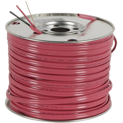 *PER METER CUT* NMD90 RED 12/2CU -150M RED PVC JACKET CABLE 300V 90 DEG-SOUTHWIRE-VAUGHAN-Default-Covalin Electrical Supply