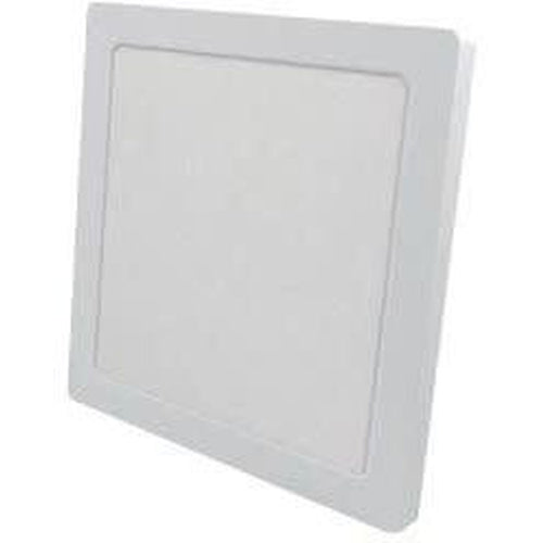 LED FLUSH MOUNT SQUARE 12'' DIAMETER, 24W 2100LMN, 3000K, WHITE-ORTECH-CROWN DISTRIBUTION-Default-Covalin Electrical Supply