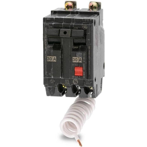 GENERAL ELECTRIC 2 POLE 30A BOLT ON GROUND-FAULT BREAKER THQB2130GFT-GENERAL ELECTRIC-DEALER SOURCE-Default-Covalin Electrical Supply