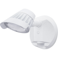 SECURITY LIGHT, SINGLE HEAD, WHITE-ORTECH-CROWN DISTRIBUTION-Default-Covalin Electrical Supply