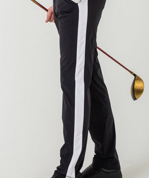 MODERN STRAIGHT LINE CONTRAST PANTS