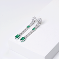 Chatelet Emerald Cascade earrings