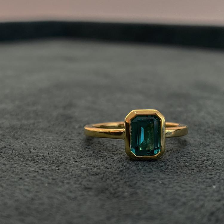 Chatelet Petite Green Ring