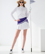 TRELLIN TUBE PLEAT SKIRT