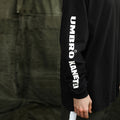 [KANEITEI X UMB] Logo Long Sleeve (Black)