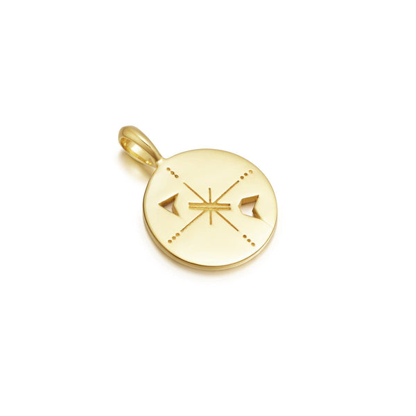 Gold Compass Amulet Pendant Necklaces Missoma