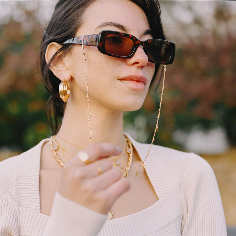 Gold Leaf Eyewear Chain Accessories Missoma Limited