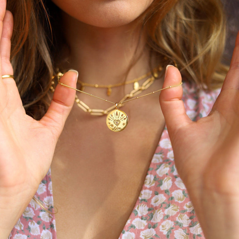 Gold Love Amulet Necklace Necklaces Missoma