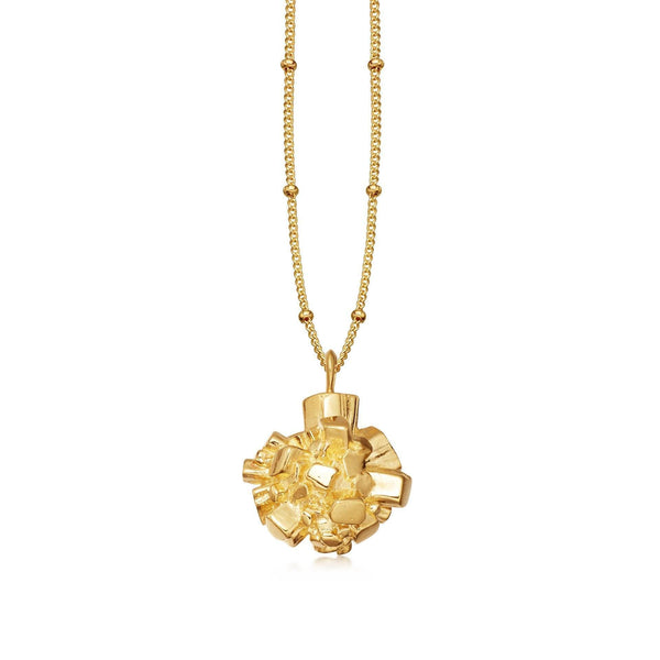 Gold Medium Argonite Star Necklace Necklaces Missoma