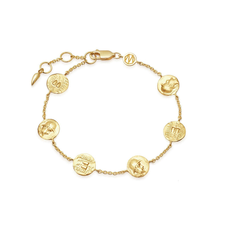 Lucy Williams Gold Legion Coin Bracelet Bracelets Missoma