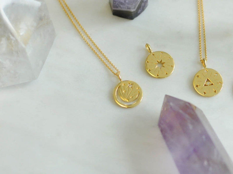 Moon Amulet Pendant Necklaces Missoma