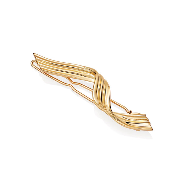 Twisted Ribbon Hair Slide Accessories Missoma