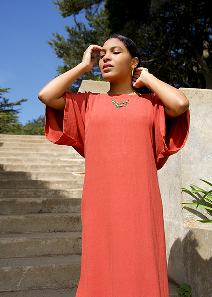 Earth Month Sustainable Fashion Photoshoot