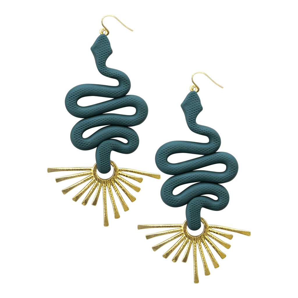 The Medusa Earrings - Consciously