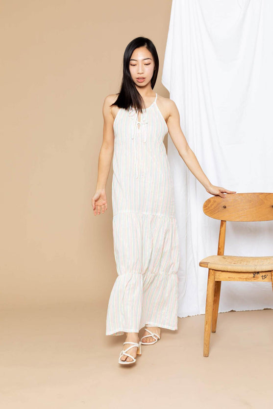 Paula Tiered Cover-Up Maxi - Consciously