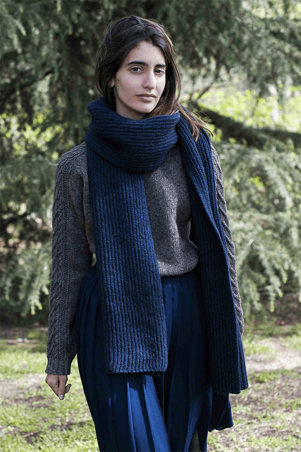 Camille Wool Scarf - Consciously