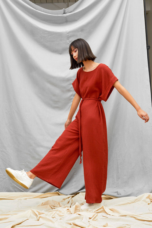 Tie Back Jumpsuit - Consciously