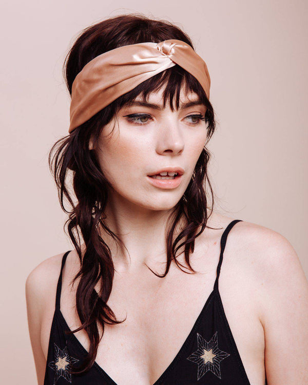 Champagne Supernova Headwrap - Consciously
