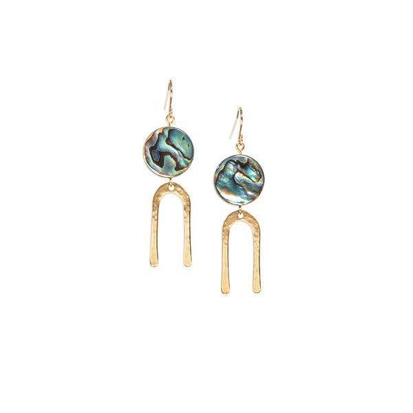 Frances Short Earrings - Consciously