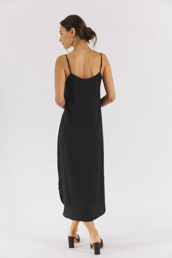 Easy Slip Dress (Black) Dress Neu Nomads