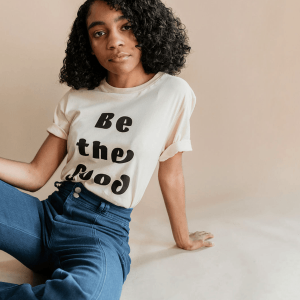 Be The Good Graphic T-Shirt Top Polished Prints