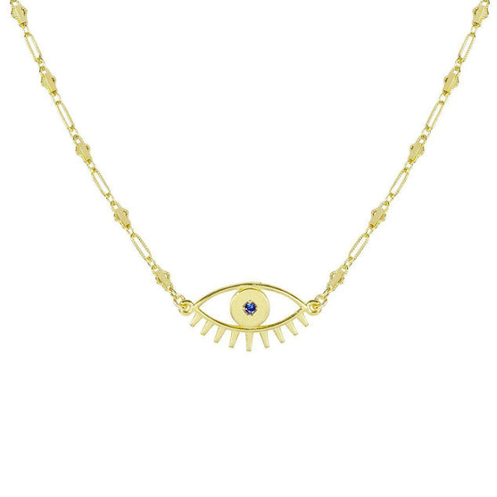 Evil Eye Necklace - Consciously