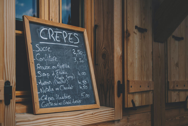 HOW TO CREATE YOUR OWN MENU SLATE WITH CHALKBOARD PAINT | PaintOutlet.co.uk