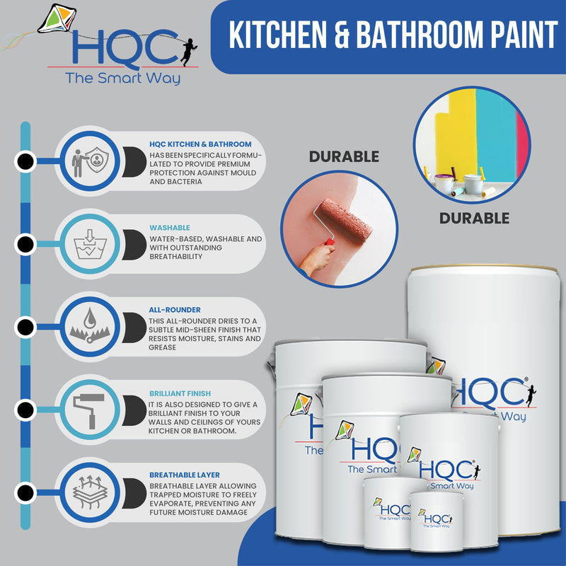 HQC Kitchen & Bathroom Paint - PaintOutlet.co.uk