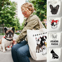 French Bulldog Shoppingtasche